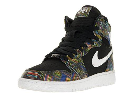 Nike Damen Air Jordan 1 Retro High Bhm Gg Laufschuhe Schwarz / Weiß / Grün (Schwarz / Weiß-Schwarz-Vltg Grün)