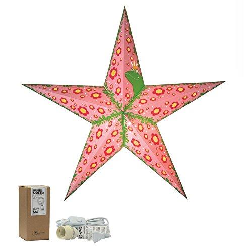Estrella de papel, Princesa Bonita, Lámpara para cuarto de niños, decoración