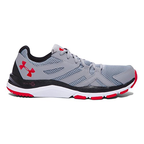 Under ArmourUnder Armour Men's Strive 6 Training Shoes - Strive 6 scarpe da ginnastica da uomo Steel/ Black/ Red