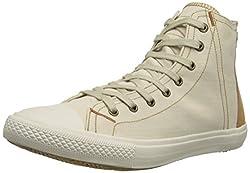 Levis White Tab Hi Fashion Sneaker Light Beige 9.5 D(M) US