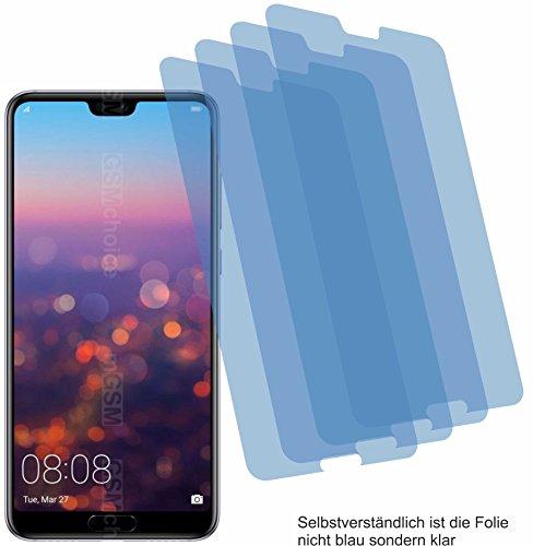 4ProTec 4X ANTIREFLEX matt Schutzfolie für Huawei P20 Pro Bildschirmschutzfolie Displayschutzfolie Schutzhülle Bildschirmschutz Bildschirmfolie Folie