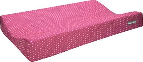 bébé-jou 690044 Komfort-Wickelauflage Textil ABC, Grosse 72 x 44 x 9 cm