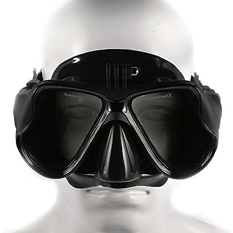 XCSOURCE Dive Snorkeling Nuoto Scuba maschera subacquea per GoPro Hero 2/3/3 + / 4 SJ4000 Xiao Yi Azione macchina fotografica di sport