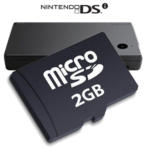 Price comparison product image 2GB Xylo Micro SD Memory Card for Nintendo DSi Handheld Games Console. Comes with Adaptor.