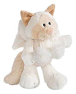 NICI- Gato de Nieve de Peluche, Color Blanco, 25 cm (40907.0)