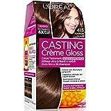 L 'Oréal Paris–Tinta para pelo casting Creme Gloss sin amoniaco N415Maron Glace'