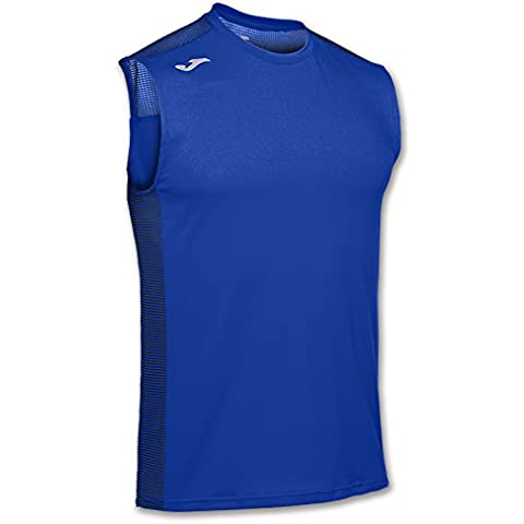 JOMA T-SHIRT HYBRID ROYAL SLEEVELESS