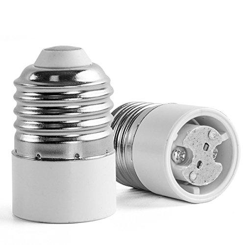 AWE-LIGHT E27 a MR11 G4 della lampada LED Base adattatore lampadina convertitore, confezione da 6
