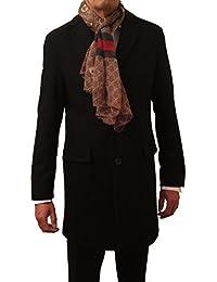 b97039725a28 Business Mantel als Wollmantel zum Anzug anthrazit   schwarz - 3 4  Wintermantel Freiherr von