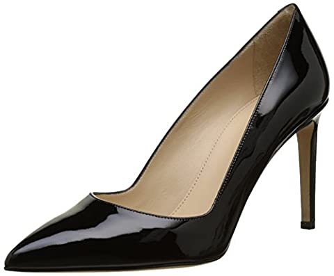 HUGO Damen Hellia-P 90 10195629 01 Pumps, Schwarz (Black 1), 36 EU