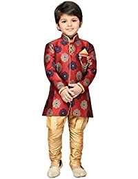 AJ DEZINES Boy's Regular Fit Kurta Pyjama