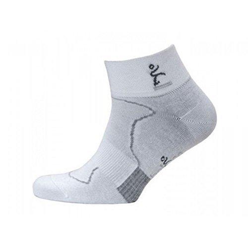 41QK7idHi3L. SS500  - Balega Minimal Runner Pro Pacer 2 Running Socks White/Grey