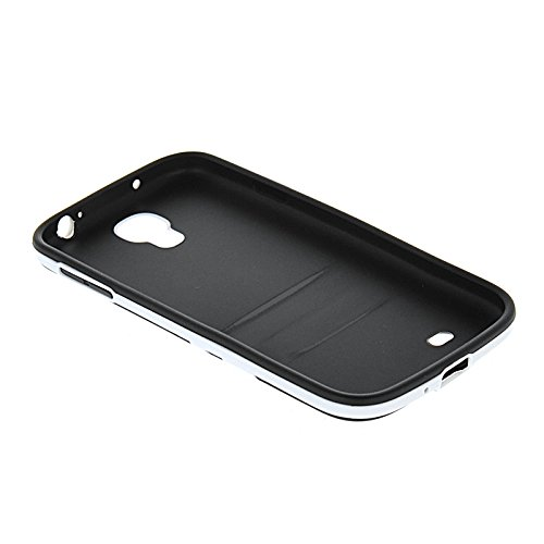 MOONCASE TPU Silicone Housse Coque Etui Gel Case Cover Pour Apple iPhone 6 Plus Gris Noir