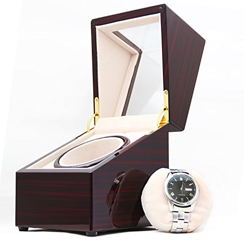 [100% Handgemacht] CHIYODA Uhrenbeweger für 1 Uhr Watch Winder mit Mabuchi Motor - 2