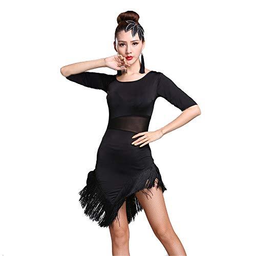 Salsa Tanz Performance Kostüm - Mebeauty-cl Frauen Latin Dance Dress Frauen