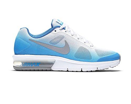 Nike Jungen Pht BL / Mtllc Slvr-White-Pht BL Turnschuhe Azul (Pht Bl / Mtllc Slvr-White-Pht Bl)