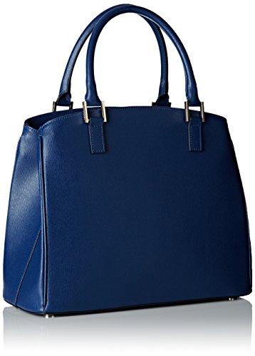 Trussardi 76b32253, Borsa Tote Donna, 30x25x14 cm (W x H x L) Blu (Blue Denim)