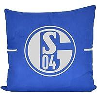 FC Schalke 04 Kissen Spielfeld 40x40cm