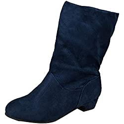 41bcb81e918 Botines cuña Tacón Ancho para Mujer Otoño Invierno 2018 Moda PAOLIAN Botas  Militares Medio Zapatos Vestir