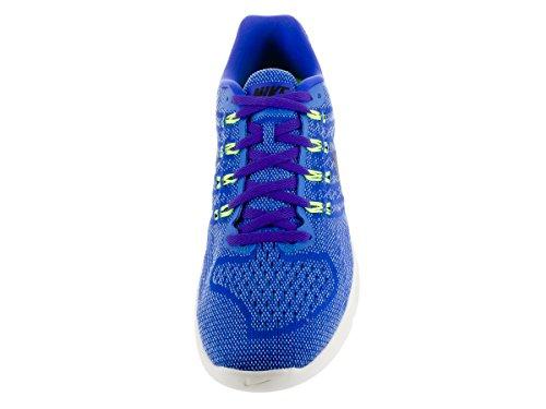 Nike Lunar Tempo 2 Herren Laufschuhe Blau / Schwarz / Lima (Racer Blau / Schwarz-Lt Bl-ht VLTs)