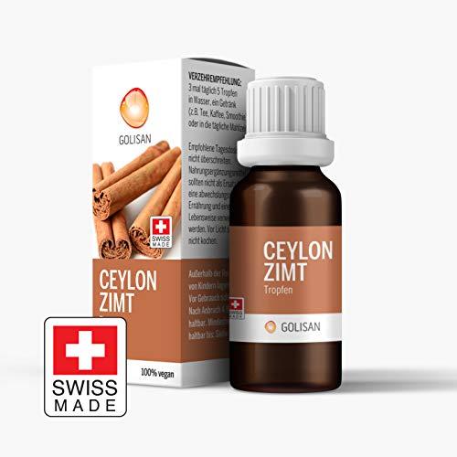 GOLISAN Premium Zimt Ceylon Extrakt • hochdosiert