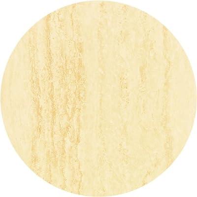 Werzalit / hochwertige Tischplatte / Travertin / runde Form 60 cm / Bistrotisch / Bistrotische / Gartentisch / Gastronomie
