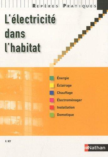 L'électricité dans l'habitat - Collection Repères Pratiques par Henri Ney