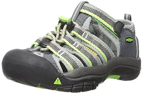 Keen Unisex-Kinder Newport H2 Sandalen Trekking-& Wanderschuhe, Grau (Racer Gray), 35 EU