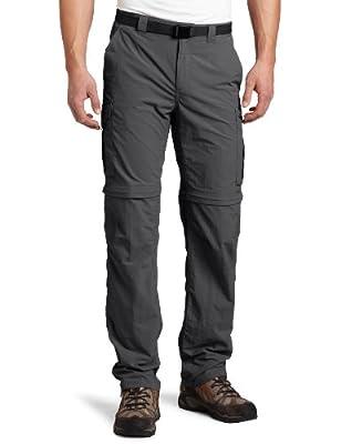 Columbia Sportswear Men's Silver Ridge Convertible Pant, Grill, 52 x 34