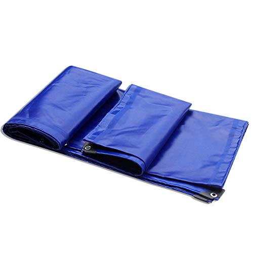 RY Verdicktes regendichtes Tuch Außenzelt Wasserdichtes Tuch Haushaltsdach Parkplatz Schuppen Regenplane PVC-beschichtetes Tuch Automobile Sunshade Cloth Cover (Color : A, Size : 8x12m) (8 X 12 Schuppen)