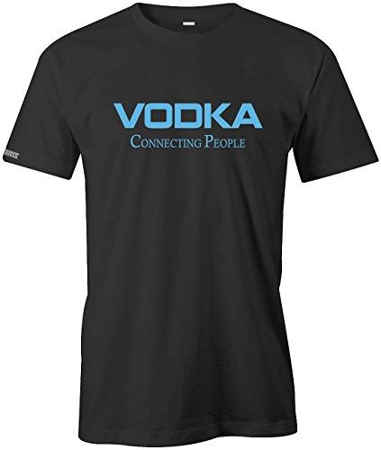 Jayess Vodka Connecting People - Herren - T-Shirt in Schwarz by Gr. L