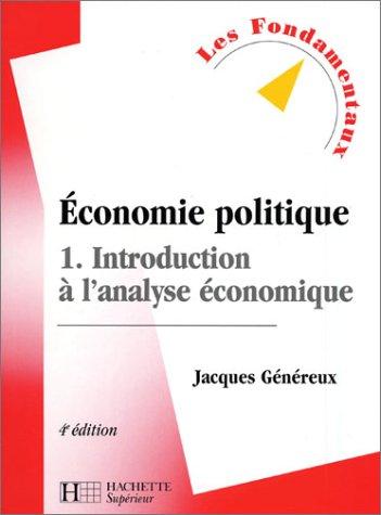 Économie politique, tome 1