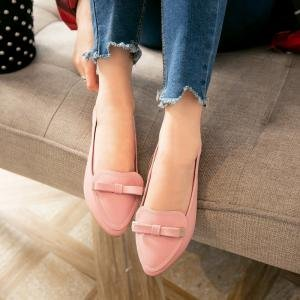 hexiajia , Chaussures à lacets femme Rose