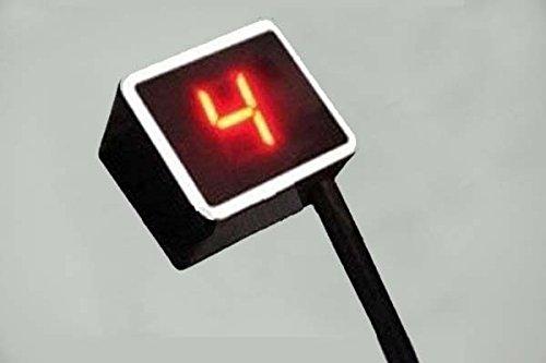 Yosoo (TM)–Indicador de marchas digital universal de cambio Sensor de palanca de luz de moto, color azul