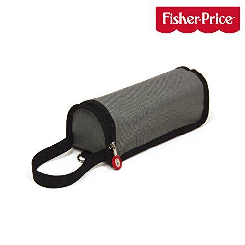FISHER PRICE Range Biberon avec Anse pour Accrocher au Sac à Langer Gris