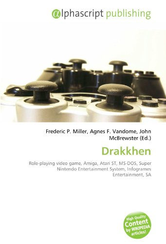 Drakkhen: Role-playing video game, Amiga, Atari ST, MS-DOS, Super Nintendo  Entertainment System, Infogrames Entertainment, SA
