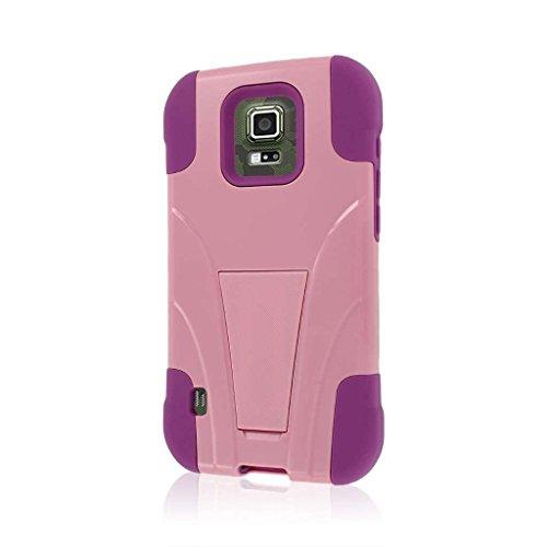 Empire Mpero Impact X Series Schutzhülle mit Ständer für Samsung Galaxy S5Active/GS5Active-PINK (S5 Otterbox Case Mit Clip)