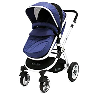 New iSafe Trio Stroller Only - Navy   14