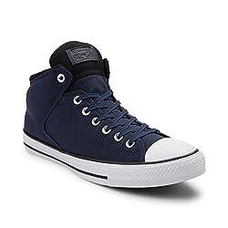 2023d681b393 19%off Converse Chuck Taylor All Star Street Mid Mens Fashion-Sneakers  157451c Black Cool Grey