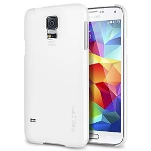 Spigen Ultra Fit Coque pour Samsung Galaxy S5 Blanc: Amazon.fr: High-tech