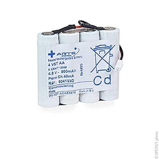 Arts Energy - Emergency lighting battery 4 VST AA parallel 4.8V 800mAh