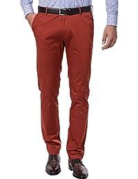 HUGO BOSS Herren Hose Pant, Größe: 48, Farbe: Rot