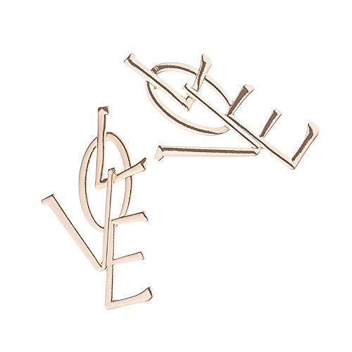 DC CLOUD Frauen Ohrringe Anhänger Ohrringe Piercing-Ohrringe Hypoallergene Ohrringe Attraktive Feine Einzigartige Mode-Ohrringe Ohrringe Gold