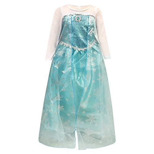 Live It Style IT Prinzessin Kostüm Elsa Kostüm -
