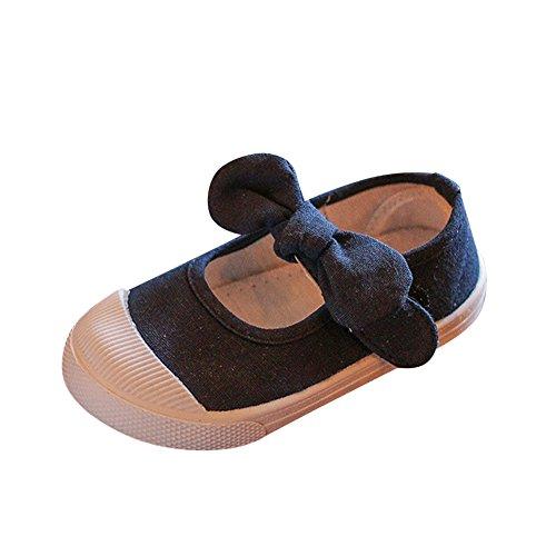 Zapatos Planos Cómodo y Transpirable Zapatillas de Deporte Unisex Niñas Zapatos con Arco Azul 23