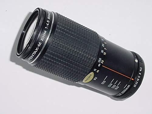Pentax M 80-200 mm f/4,5 SMC Zoom Manual Focus Lens - Objektiv-kappe Pentax