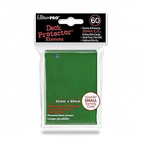 Ultra Pro 82966 - Deck Schutz Small Sleeves 60, grün