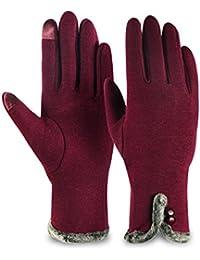 de620a64e64469 Kata Damen Touchscreen Handschuhe Winterhandschuhe Fäustlinge  Fahrradhandschuhe