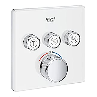 41QKNnTBSOL. SS324  - Grohe Grohtherm SmartControl Termostato con 3 chorros regulables