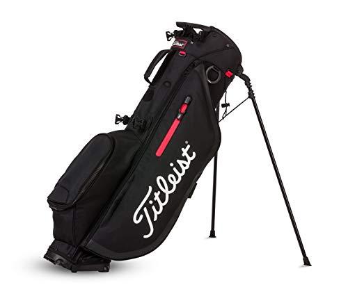 TITLEIST Players 4 Sac de Golf pour Homme, Homme, TB9SX4-0, Noir/Blanc/Rouge, Unique